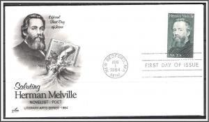 US #2094 Herman Melville FDC