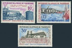 Mauritania 270-272,MNH.Mi 383-385. Economic progress 1970.Desalination Plant,
