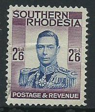 Southern Rhodesia SG 51  Used with crease