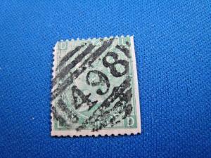 GREAT BRITAIN  -  SCOTT #54  -  Used      (brig)