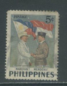 Philippines 587  Used