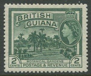 STAMP STATION PERTH British Guiana #254 QEII Definitive Issue MVLH CV$0.25