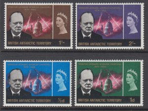 British Antarctic Territory 16-19 MNH VF