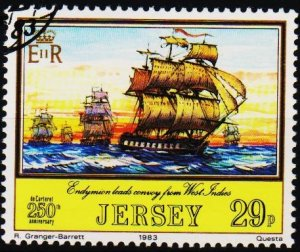 Jersey. 1983 29p S.G.309 Fine Used