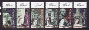 Guernsey-Sc#726-31-unused NH set-Queen Victoria '01-