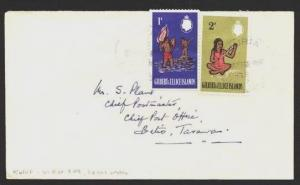 GILBERT & ELLICE IS 1965 local cover KURIA violet cds to Betio.............85082