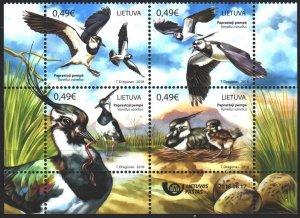 Lithuania. 2018. 1286-89. Birds, fauna. MNH.