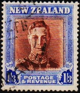 New Zealand. 1938 1s3d S.G.687  Fine Used
