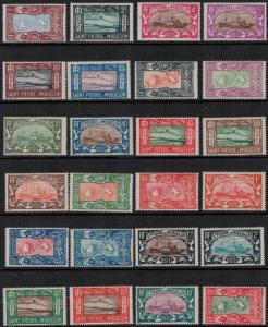 St. Pierre 1932-1933 SC 136-159 Set LH CV $254.15