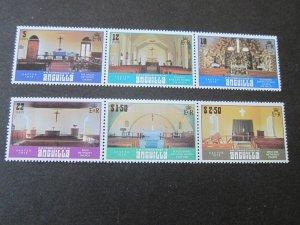 Anguilla 1979 Sc 343-8 Christmas Religion set MNH