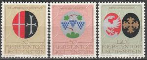 Liechtenstein #486-8   MNH  (S9802)