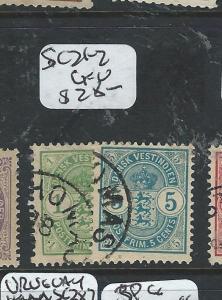 DANISH WEST INDIES  (P0806B) SC21-2      VFU