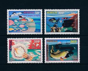 [58954] Senegal 1998 Marine life Fish Fishing MNH
