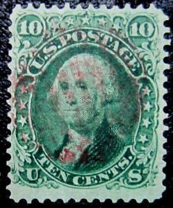 U.S .68 Used VF+ SCV$65.00 Nice