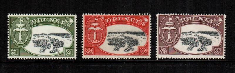 Brunei 94 - 96  MNH cat $ 39.00