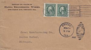 1925, Chicago, IL to Benton Harbor, MI (18248)