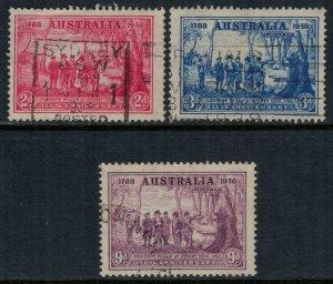 Australia #163-5  CV $16.70