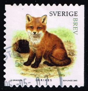 Sweden #2518d Fox Kit; Used (1.60)