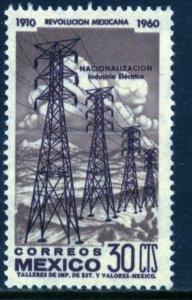 MEXICO 916, 30¢ 50th Anniv Mexican Revolution. MINT, NH. F-VF.