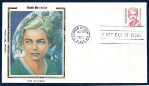 UNITED STATES FDC 46¢ Ruth Benedict 1995 Colorano