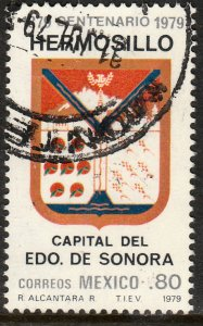 MEXICO 1177 Centenary of Hermosillo as Capital of Sonora USED. F-VF. (682)