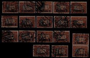 Estonia 106 used, 18x SCV288
