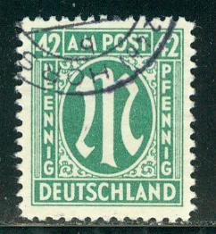 Germany AM Post Scott # 3N16, used