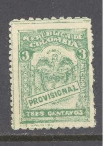 Colombia Sc # 363 used (DT)