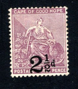 Cape of Good Hope Scott 55, F/VF, Unused, CV $8.50 ..... 1190078