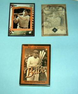 Guyana - 2913, MNH Set. 12 Babe Ruth Stamp Cards. SCV-$70.00