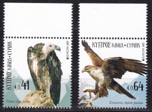 Cyprus, Birds, EUROPA MNH / 2019