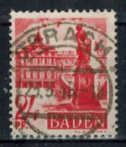 Germany - French Occupation - Baden - Scott 5N8