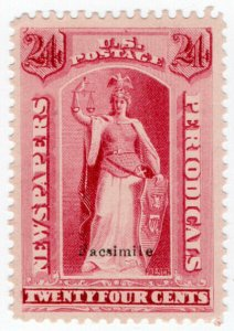 (I.B) US Postal Service : Newspapers & Periodicals Stamp 24c
