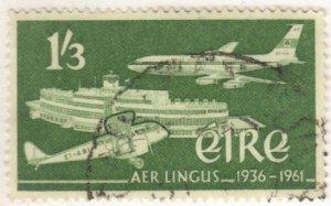 Ireland #178 used, 1sh3p Air Lingus
