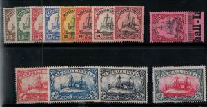 Marshall Islands 13-25 1901 Mint SCV$ 168.00 Set