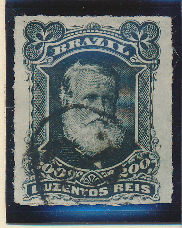 Brazil Stamp Scott #73, Used - Free U.S. Shipping, Free Worldwide Shipping Ov...