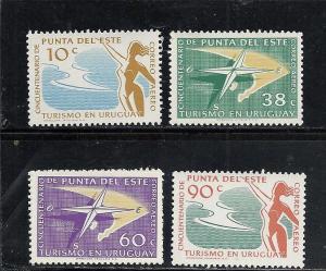 Uruguay #C195-9 comp mnh cv $2.55