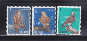 Abu Dhabi 12-14 Set MNH Birds (E)