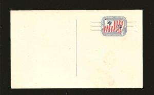 USA UX52 Coast Guard 4Cent Postcard Unused