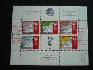 Europa 1961 - Paraguay - Souvenir Sheet