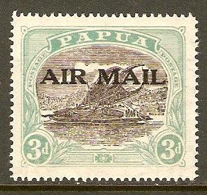 Papua New Guinea #C1 NH Regular Issue O/P Air Mail