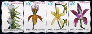 [67184] Equatorial Guinea 1999 Flora Flowers Blumen Orchids  MNH