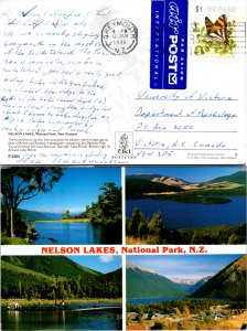 New Zealand, Picture Postcards, Butterflies