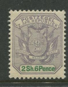 Transvaal - Scott 174 - Definitive Issue -1896 - MNH -Single 2/6p Stamp
