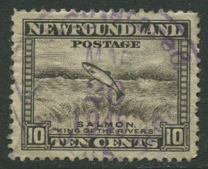 STAMP STATION PERTH Newfoundland #193 Pictorial Definitive 1932 Used- CV$0.85
