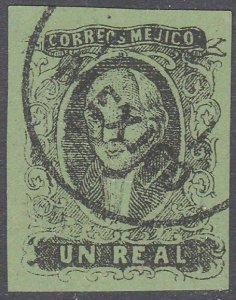 MEXICO  An old forgery of a classic stamp...................................C778