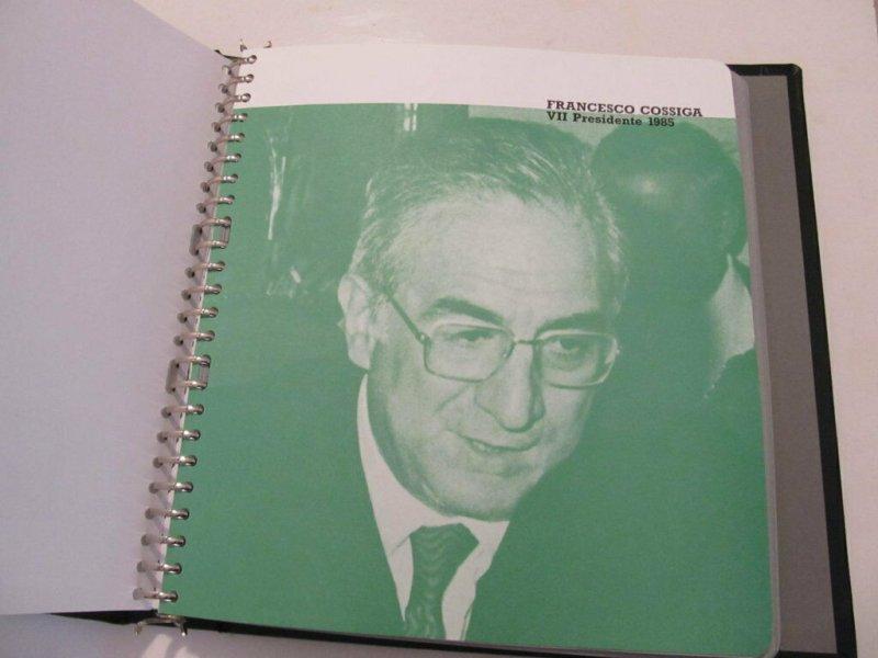 Bolaffi Custodia Cartella Fogli dal 1985-95 Foglietti Servizi Colombo Congiunte