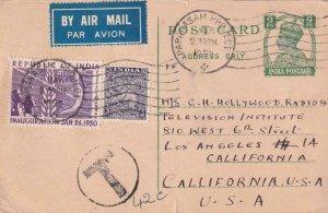 1950, Papanasam Project, India to Los Angeles, CA, See Remark (41485)