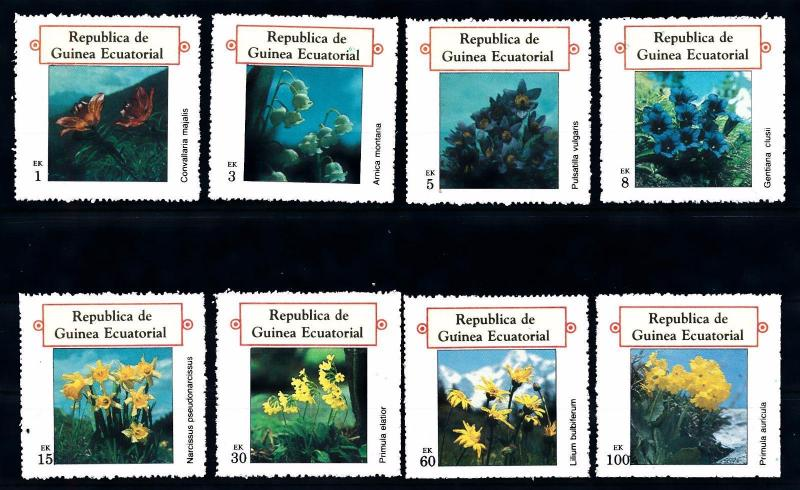 [66910] Equatorial Guinea Local Issue  Flora Flowers Blumen  MNH