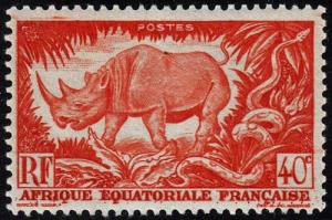French Equatorial Africa - Scott 168 - Mint-Hinged